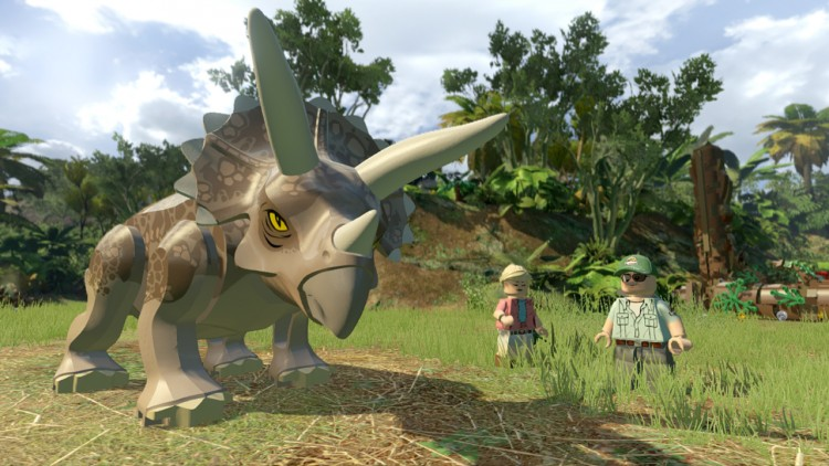 lego jurassic world - jeux video