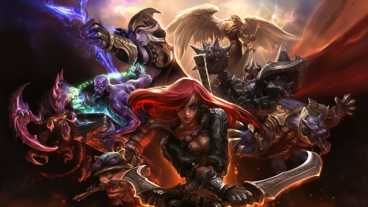 MOBA Multiplayer Online Battle Arena