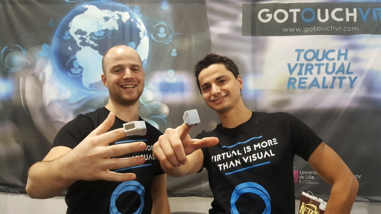 Go Touch VR / CES 2017
