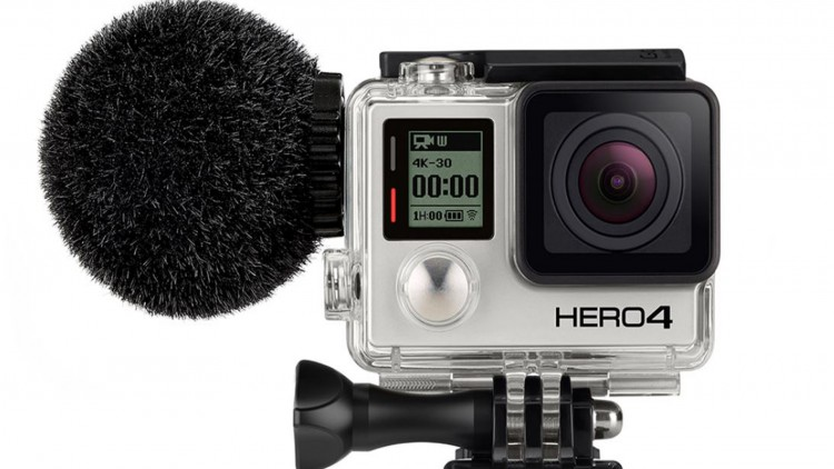Micro Sennheiser MKE 2 Elements pour GoPro Hero 4
