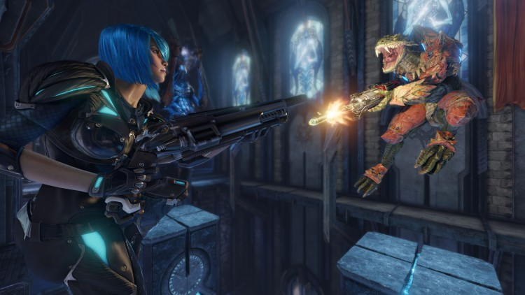Jeux video Quake Champions duel