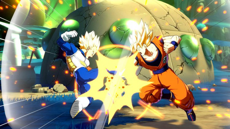 jeux video dragon ball fighterz