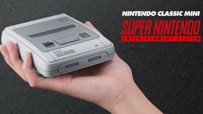 jeux video snes classic mini
