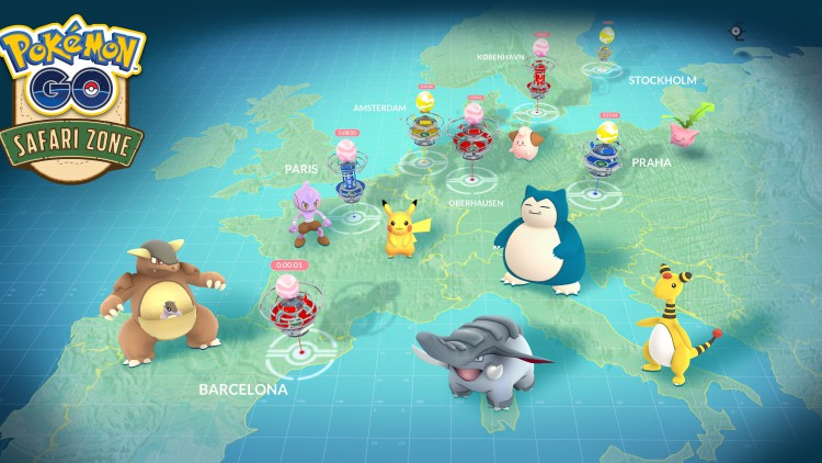 Pokemon GO europe