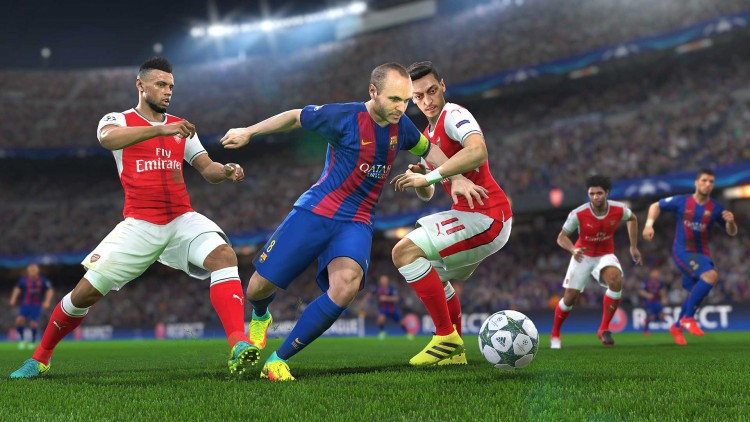 PES 2018 demo video gameplay