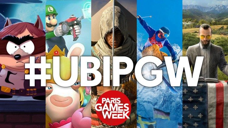 Ubisoft : Paris Games Week 2017