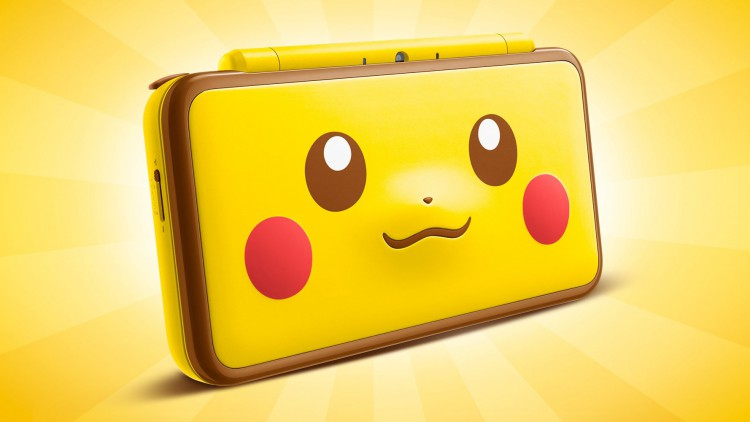 New 2DS XL Pikachu