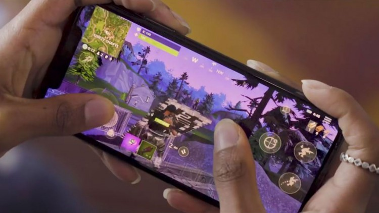 Fortnite Mobile IOS inscription