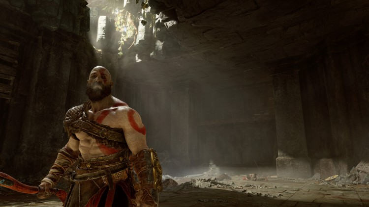 God of war image vidéo test ps4