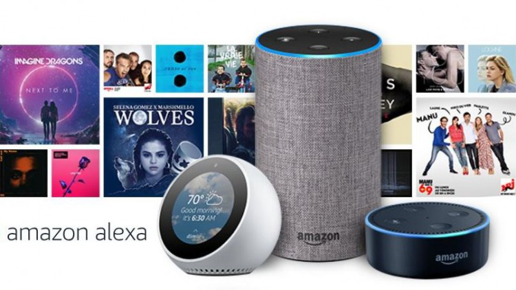 Amazon Echo dot spot france sortie