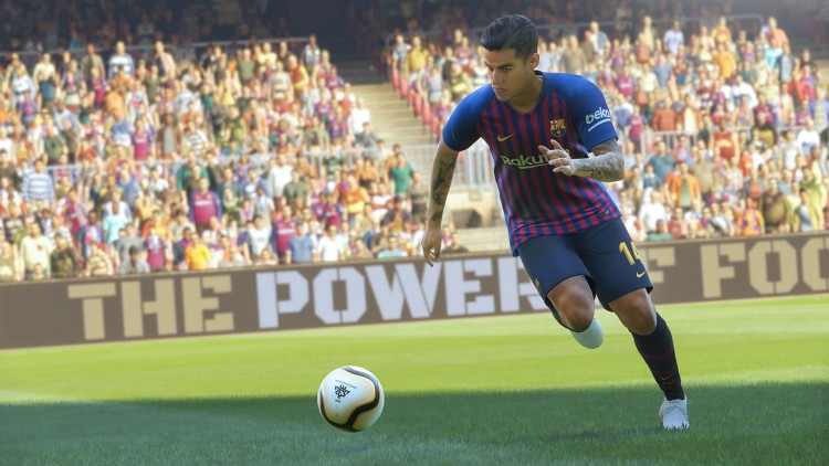 PES 2019 date démo stades équipes ps4 xbox one pc