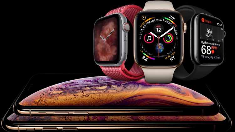 Keynote Apple iPhone XS iPhone XR Apple Watch S4