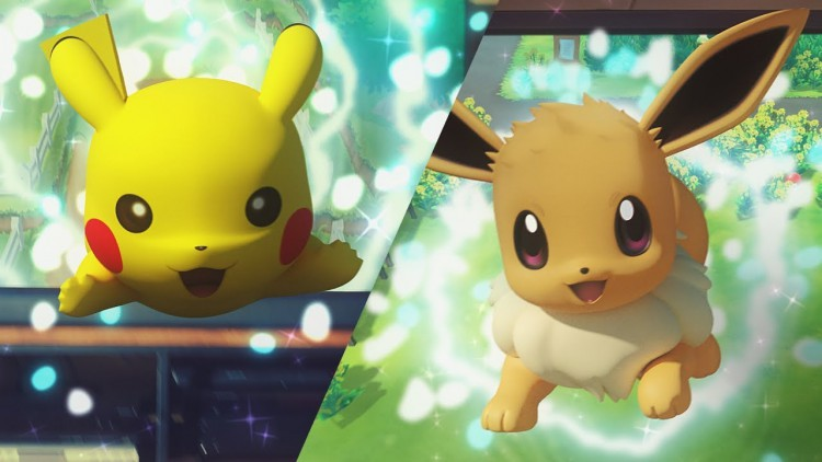 Pokémon : Let's Go, Pikachu ; Pokémon : Let's Go, Evoli ; Nintendo Switch