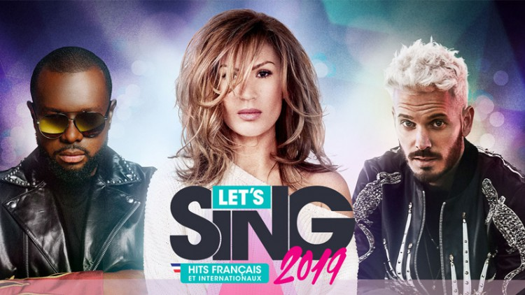 Let's Sing 2019 concours avis Switch