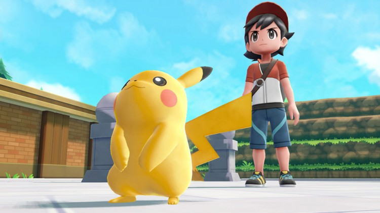 Test pokémon let's go pikachu evoli switch