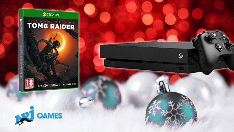 Concours Xbox One X à gagner + jeu Shadow Of The Tomb Raider Xbox One