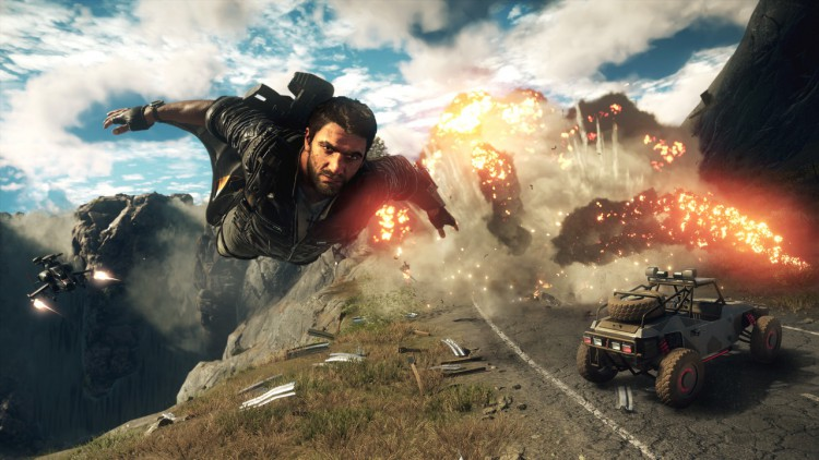 Just Cause 4 video gameplay PS4