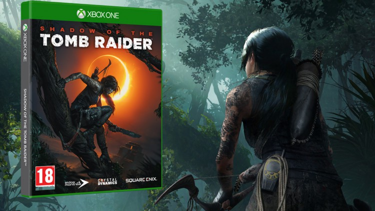 Concours 3 jeux Shadow Of The Tomb Raider Xbox One