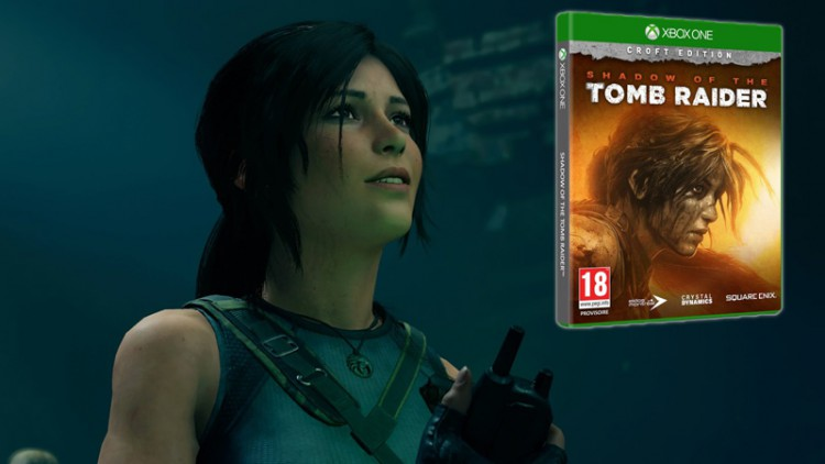 Concours 3 jeux Shadow Of The Tomb Raider Croft Edition Xbox One