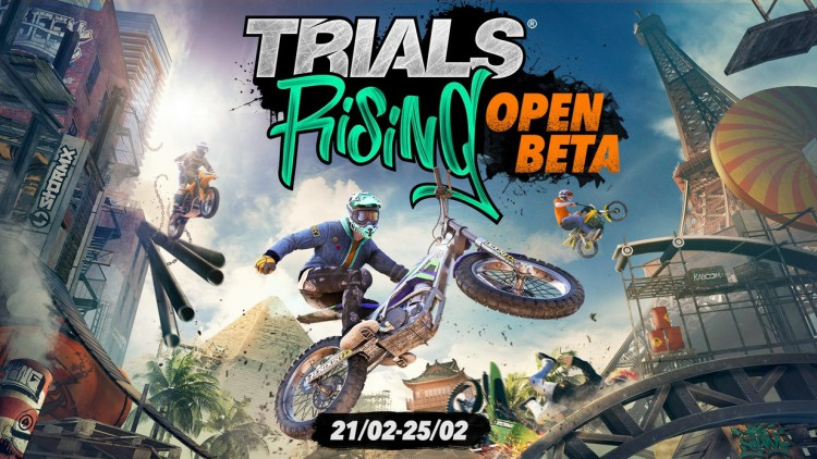 Trials Rising open beta date prix ps4 pc xbox one switch
