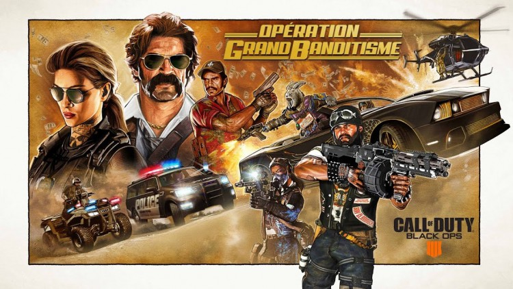 Call Of Duty Black Ops 4 : Opération Grand Banditisme