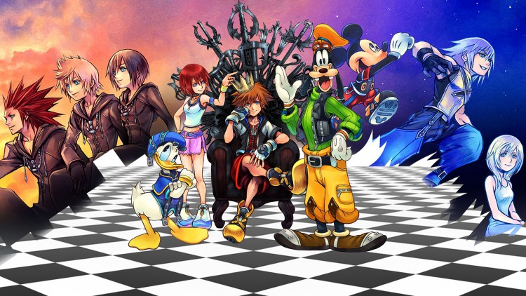 Kingdom Hearts méga compilation Story So Far PS4