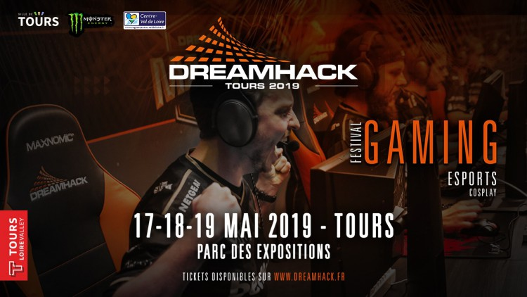 dreamhack, tours, esport, mai 2019,