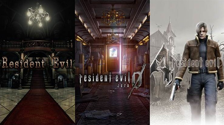 Resident Evil HD, RE 0 et RE4 disponibles sur Switch