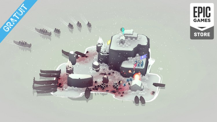Bad North Jotunn Edition est gratuit sur PC (Epic Games Store) !
