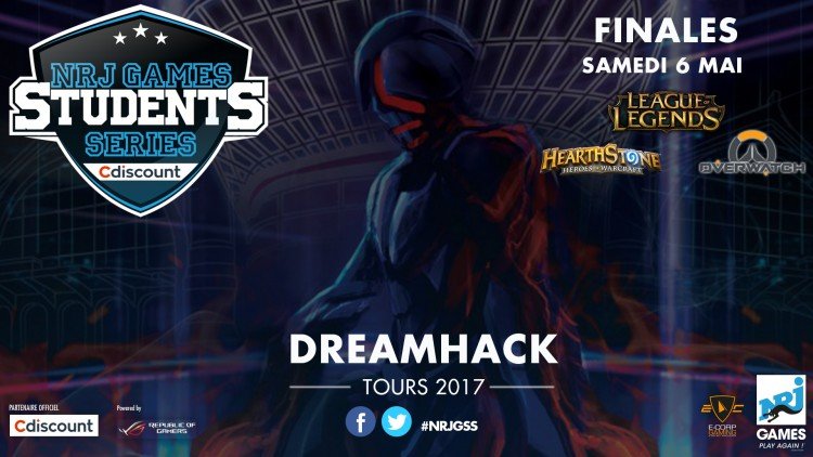 Dreamhack 2017 - Finales NRJ GAMES STUDENTS SERIES