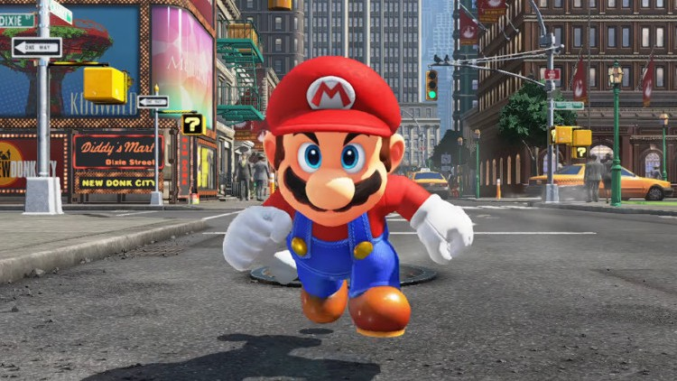 jeux video super mario odyssey