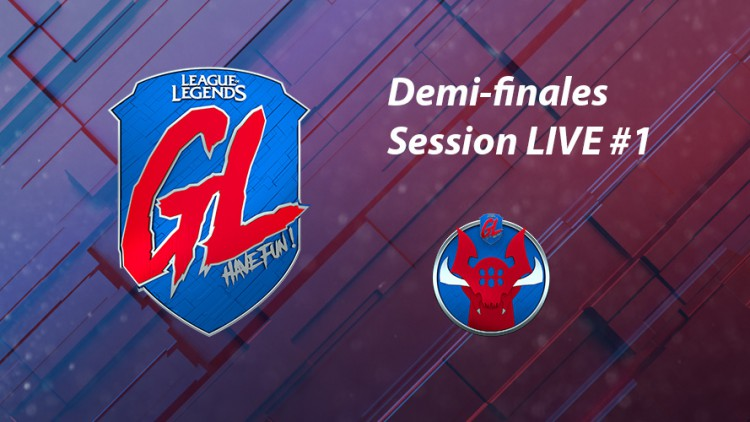 League Of Legends La Grosse Ligue : live demi finale 1 split 2